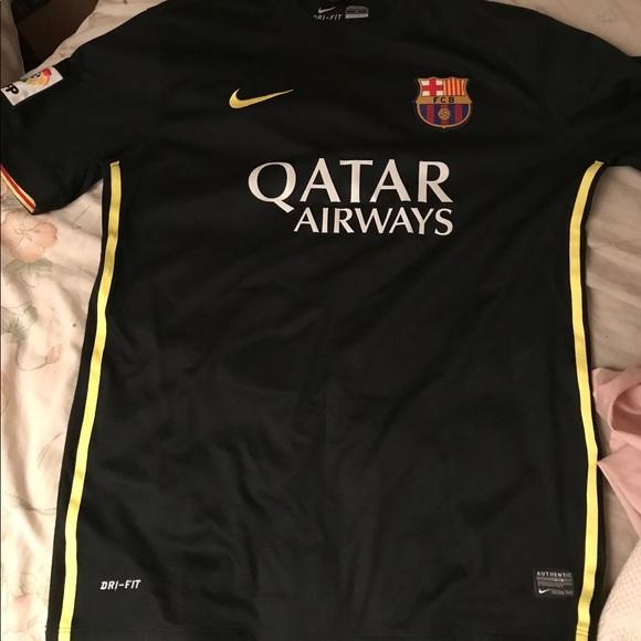 more photos c06f3 6491e Authentic 2014 Barcelona Away Kit Mint Condition